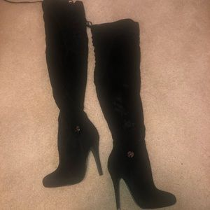 Arden B over the knee boots